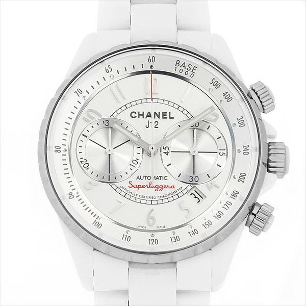 ef744ccf9eb8 48回払いまで無金利 シャネル J12 スーパーレッジェーラ H3410 中古 メンズ 腕時計 ginzarasin ...