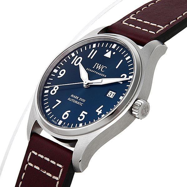 48回払いまで無金利 SALE IWC パイロットウォッチ マーク18 プティプランス IW327004 中古 メンズ 腕時計|ginzarasin|02