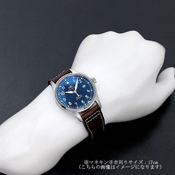 48回払いまで無金利 SALE IWC パイロットウォッチ マーク18 プティプランス IW327004 中古 メンズ 腕時計|ginzarasin|04