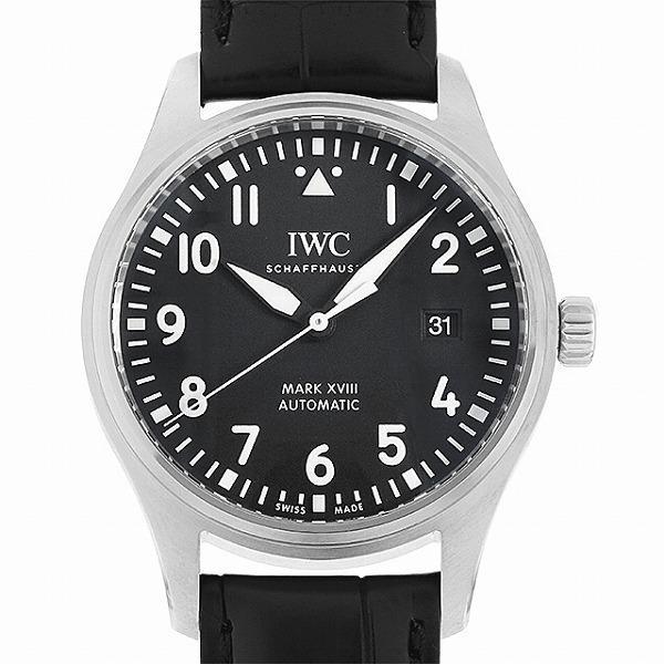 48回払いまで無金利 IWC パイロットウォッチ マーク18 IW327009 中古 メンズ 腕時計|ginzarasin