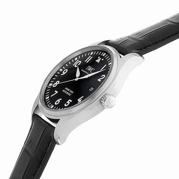 48回払いまで無金利 IWC パイロットウォッチ マーク18 IW327009 中古 メンズ 腕時計|ginzarasin|02