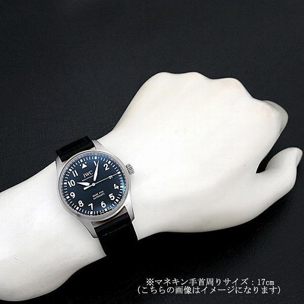 48回払いまで無金利 IWC パイロットウォッチ マーク18 IW327009 中古 メンズ 腕時計|ginzarasin|04
