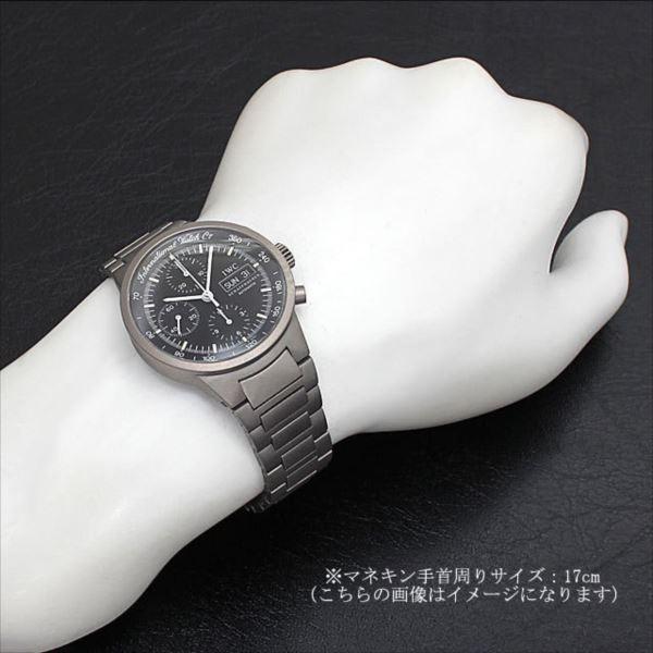 huge selection of 66d7f 369b8 48回払いまで無金利 SALE IWC GSTクロノグラフ IW370703(3707-003) 中古 メンズ 腕時計