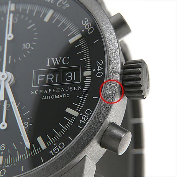 wholesale dealer db6af b5710 48回払いまで無金利 IWC GSTクロノグラフ IW370703(3707-003) 中古 メンズ 腕時計
