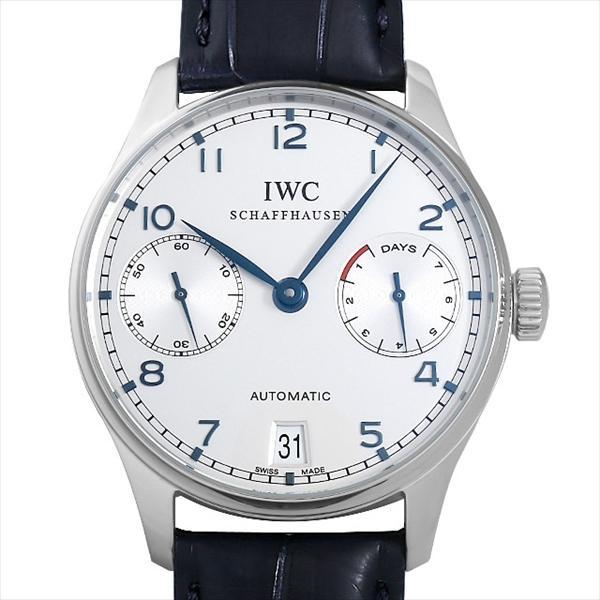 huge selection of f9f7d cb71b 48回払いまで無金利 IWC ポルトギーゼ オートマティック 7DAYS IW500107 中古 メンズ 腕時計