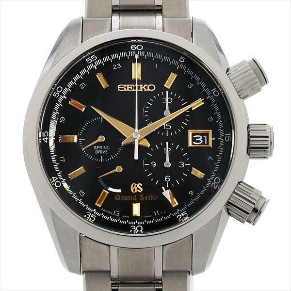 60回払い無金利グランドセイコースプリングドライブクロノグラフマスターショップ SBGC005中古メンズ腕時計