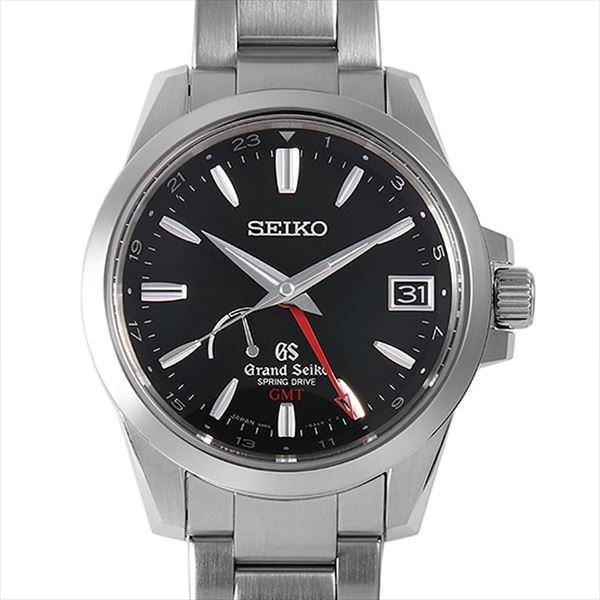 48回払いまで無金利 グランドセイコー スプリングドライブ GMT SBGE013 中古 メンズ 腕時計