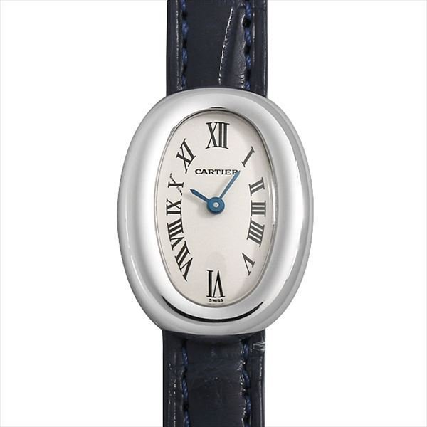 4cffe053f1 48回払いまで無金利 カルティエ ミニベニュワール W1518956 中古 レディース 腕時計|ginzarasin| ...