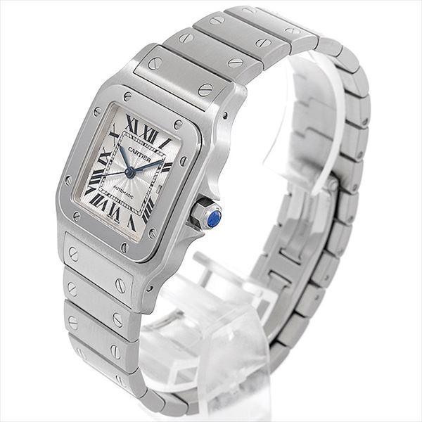48回払いまで無金利 カルティエ サントス ガルベ LM W20055D6 中古 メンズ 腕時計|ginzarasin|02