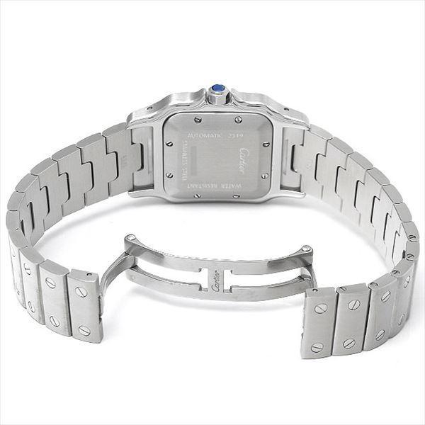 48回払いまで無金利 カルティエ サントス ガルベ LM W20055D6 中古 メンズ 腕時計|ginzarasin|03