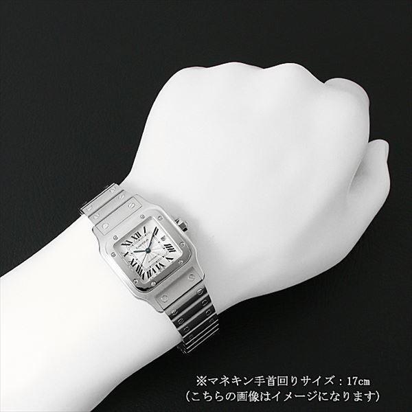 48回払いまで無金利 カルティエ サントス ガルベ LM W20055D6 中古 メンズ 腕時計|ginzarasin|04