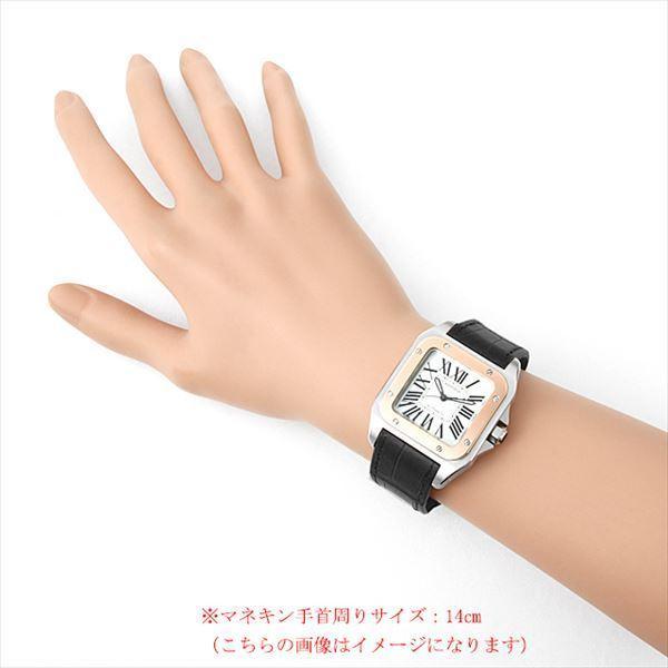 48回払いまで無金利 カルティエ サントス100 MM W20107X7 中古 ボーイズ(ユニセックス) 腕時計|ginzarasin|04