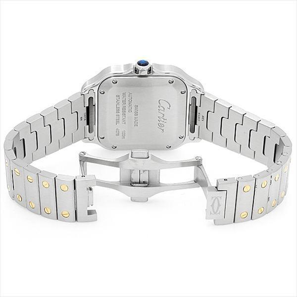 48回払いまで無金利 カルティエ サントス ドゥ カルティエ MM W2SA0007 中古 ボーイズ(ユニセックス) 腕時計|ginzarasin|03