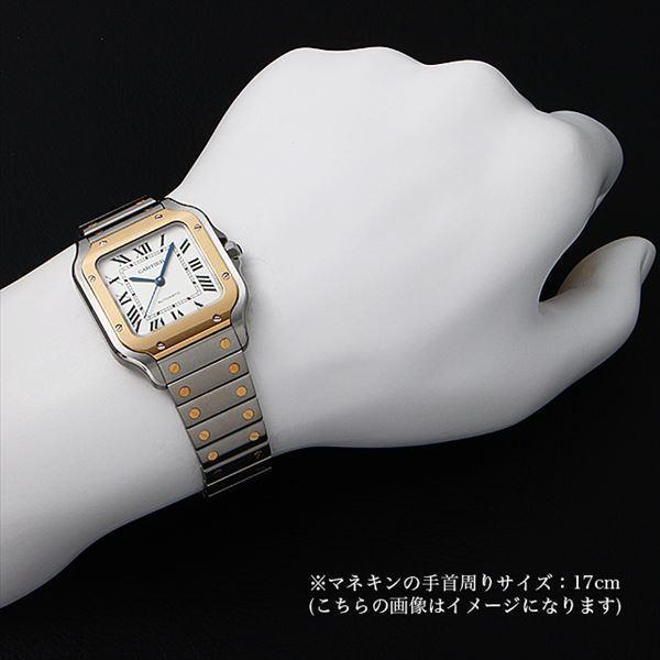 48回払いまで無金利 カルティエ サントス ドゥ カルティエ MM W2SA0007 中古 ボーイズ(ユニセックス) 腕時計|ginzarasin|04