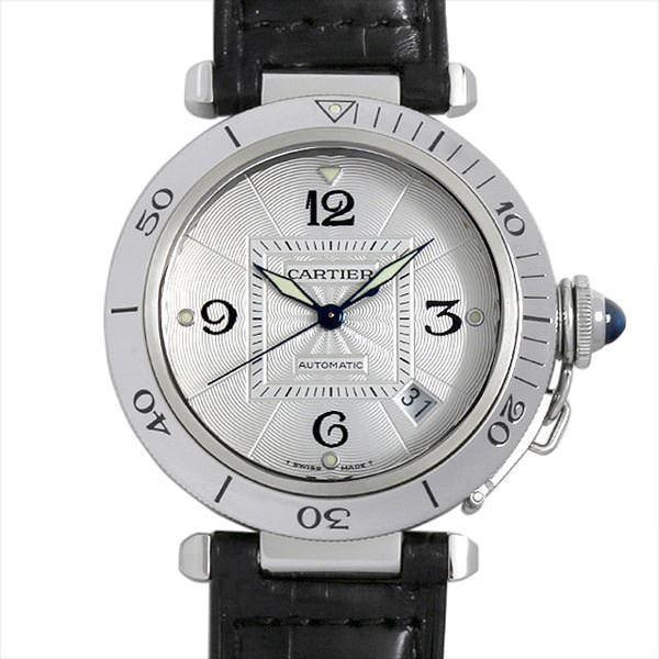 7cf2e103bc 48回払いまで無金利 カルティエ パシャ 38mm W3103155 中古 メンズ 腕時計|ginzarasin ...