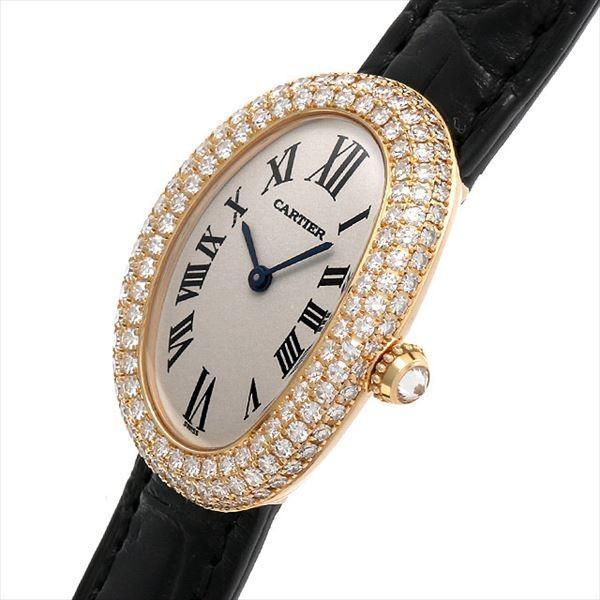 b649b32415 ... 48回払いまで無金利 カルティエ ベニュワール1920 三重ダイヤ WB500451 中古 レディース 腕時計| ...