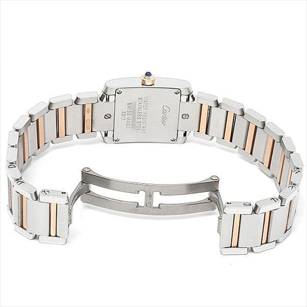san francisco 2fcba d6aa2 48回払いまで無金利 SALE カルティエ タンクフランセーズ 11Pダイヤ WE110004 中古 レディース 腕時計