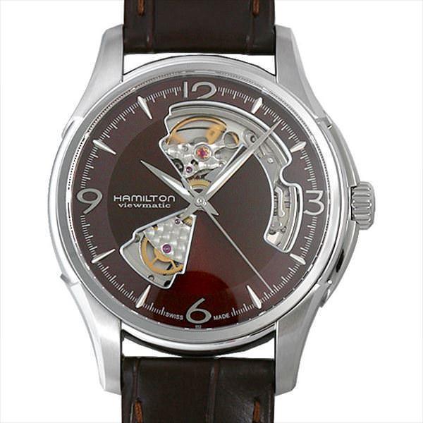 48回払いまで無金利 ハミルトン ジャズマスター ビューマチック オープンハート H32565595 新品 メンズ 腕時計|ginzarasin