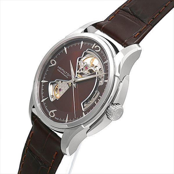 48回払いまで無金利 ハミルトン ジャズマスター ビューマチック オープンハート H32565595 新品 メンズ 腕時計|ginzarasin|02