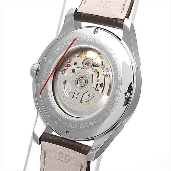 48回払いまで無金利 ハミルトン ジャズマスター ビューマチック オープンハート H32565595 新品 メンズ 腕時計|ginzarasin|03