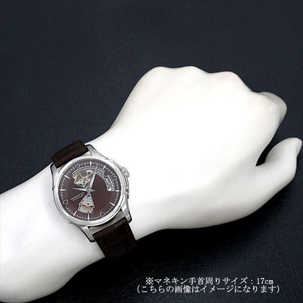 48回払いまで無金利 ハミルトン ジャズマスター ビューマチック オープンハート H32565595 新品 メンズ 腕時計|ginzarasin|05