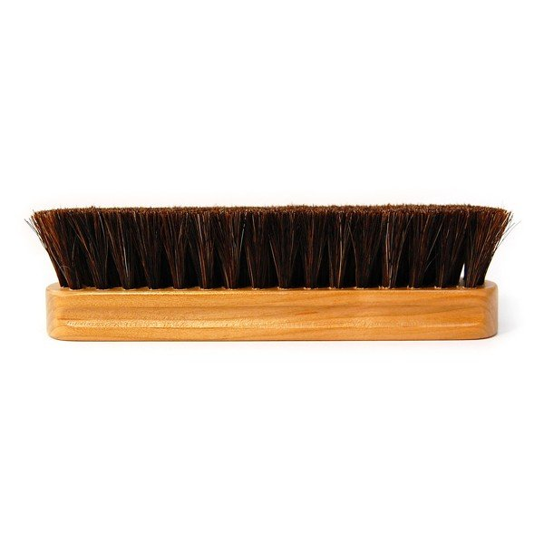 コロンブスブラシ 馬毛ブラシ (天然木の持ち手:山桜) 【ホコリ落とし】 靴磨き columbus 日本製