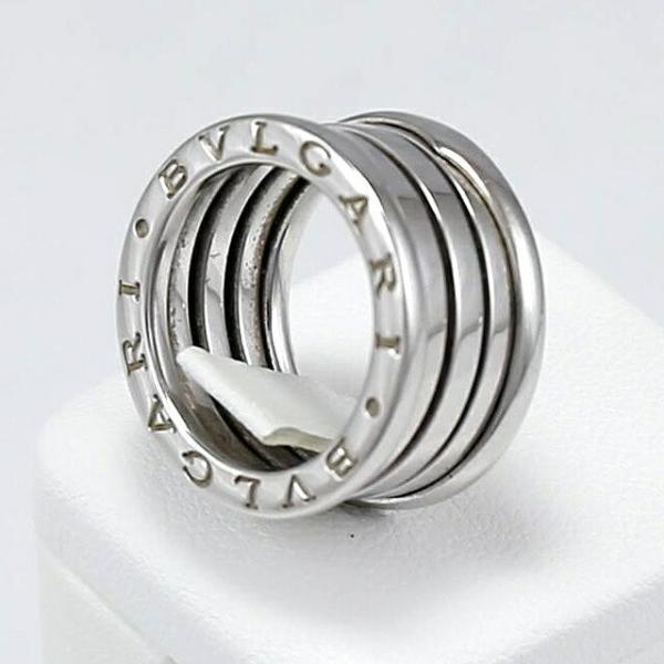 [ジュエリー] BVLGARI ブルガリ B-ZERO1 リング 指輪 #49 8号 K18 10g ホワイトゴールド WG リング  【中古】 値下げ