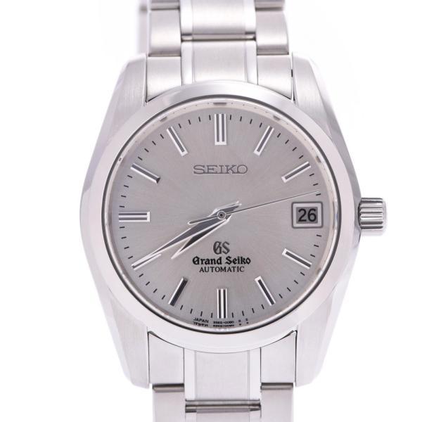 SEIKO セイコー グランドセイコー  SBGR051 メンズ SS 腕時計 自動巻き シルバー文字盤 Aランク 中古 銀蔵