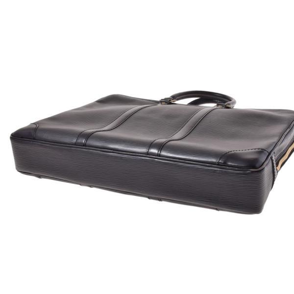 770e1a2261e8 ... 中古 ルイヴィトン エピ ヴォワヤージュ 黒 M40321 旧型 ビジネスバッグ LOUIS VUITTON|ginzo1116| ...