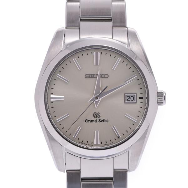送料無料 SEIKO セイコー グランドセイコー SBGX063 ボーイズ SS 腕時計 クオーツ シルバー文字盤 Aランク 中古 銀蔵