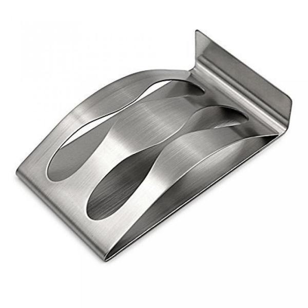 バスルーム 収納 Meiyiu Wall Mounted Toothbrush Holder Razor Organizer Self-Adhesive Stainless Steel 2 Hole 正規輸入品|gioiore|04