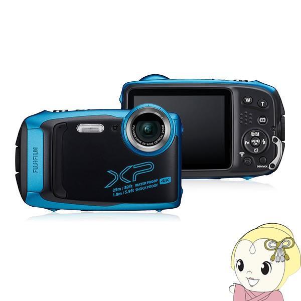 FFX-XP140-SB 富士フィルム デジタルカメラ FinePix XP140 [スカイブルー]