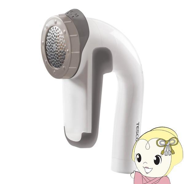 KD901-W テスコム 毛玉クリーナー 毛だまトレタ 日本製大型刃 充電交流両用 海外利用OK コードレス