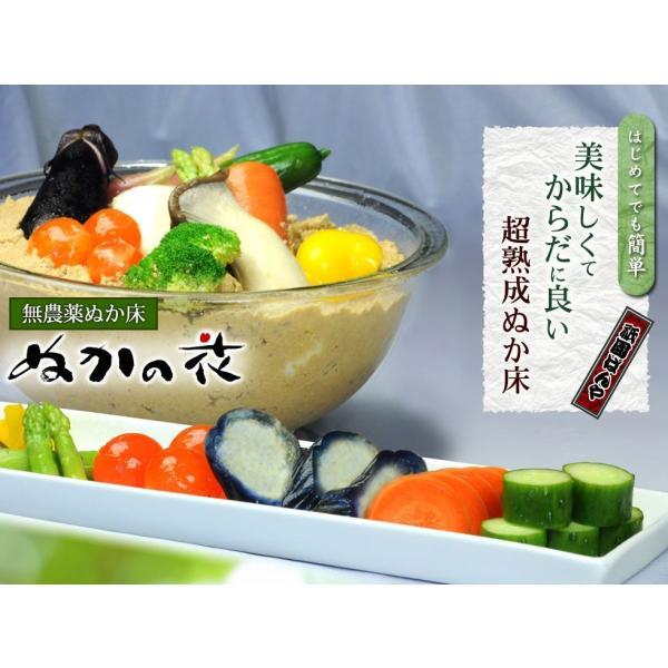 無農薬ぬか床【ぬかの花】食べられる美味しいぬか床|京都・祇園料亭の味|超熟成|最高級贅沢素材|送料無料|gionbanya2|02