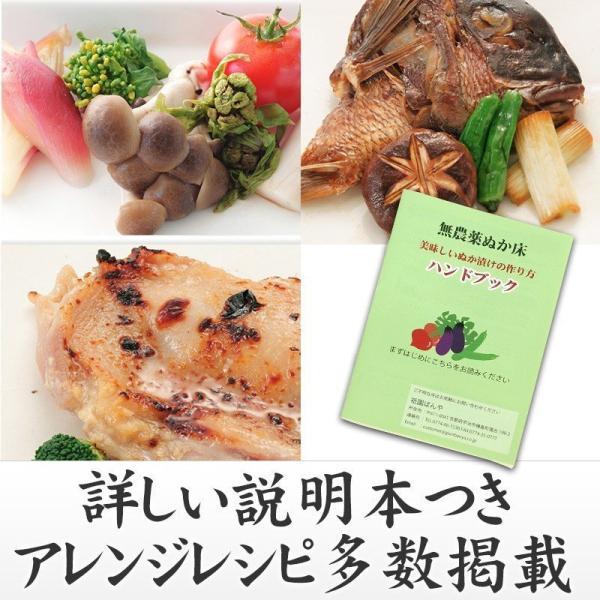 無農薬ぬか床【ぬかの花】食べられる美味しいぬか床|京都・祇園料亭の味|超熟成|最高級贅沢素材|送料無料|gionbanya2|06