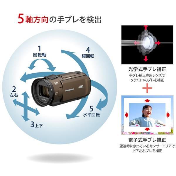 ■HC-VX1M-R パナソニック デジタル4Kビデオカメラ
