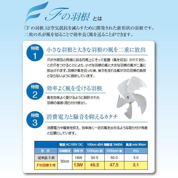 ■【あすつく】【在庫僅少】KIFI-372DC テクノス 30cmリビングフルリモコン扇 DCモーター ホワイト