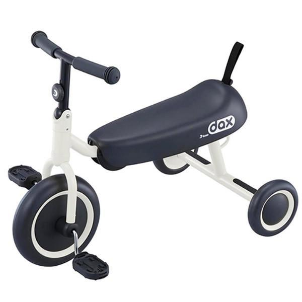 【メーカー直送】 ダックスフンドみたいな三輪車 ides D-Bike dax ホワイト 折りたたみ 三輪車/srm