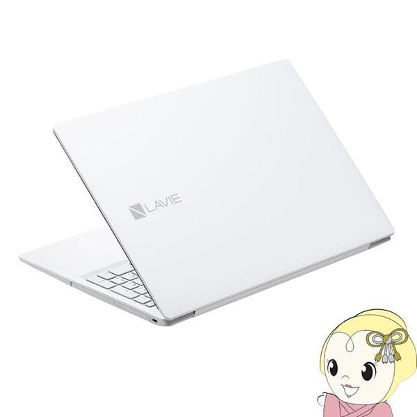 15.6型 ノートパソコン LAVIE Note Standard NS100/NSシリーズ カームホワイト[Celeron/メモリ4GB/HDD 500GB/Office H&B 2019] A NEC PC-NS100N2W
