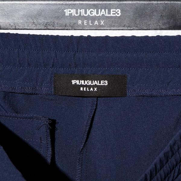 1PIU1UGUALE3 RELAX ウノピゥウノウグァーレトレ リラックス 4WAY ストレッチ ショートパンツ 紺 黒 メンズ gios-shop 07