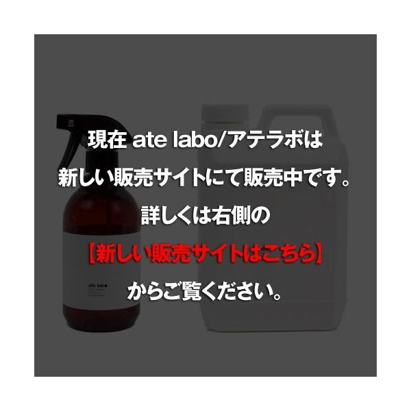 ate labo(アテラボ)Fabric Refresher 2L / 除菌消臭剤(空スプレーボトル付き) giottostile