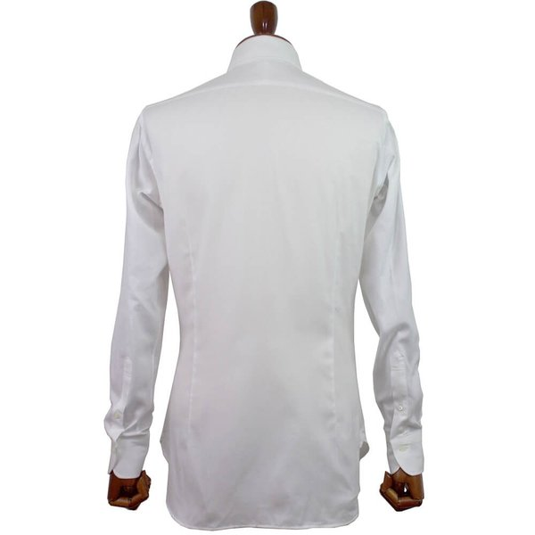 BRUNO(ブルーノ)19SS セミワイドカラー オックスフォード ドレス シャツ【ホワイト】|giottostile|04