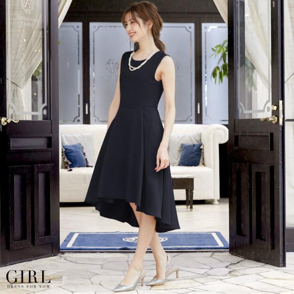 パーティードレス 結婚式 ワンピース 大きいサイズ 20代 30代 40代 モデル美香着用 フォーマル レディース フレア|girl-k|07