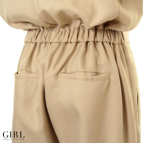 セット割対象 パーティードレス パンツドレス ワンピース ドレス お呼ばれ 大きいサイズ モデル美香着用 オールインワン 二次会 フォーマル 春 girl-k 05