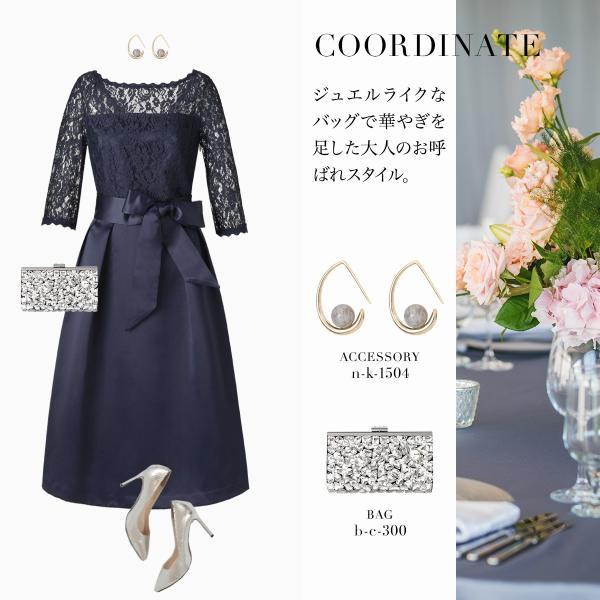 パーティードレス 結婚式 ワンピース 大きいサイズ 20代 30代 40代 フォーマル 通販 袖あり 二次会 フォーマル レディース|girl-k|18