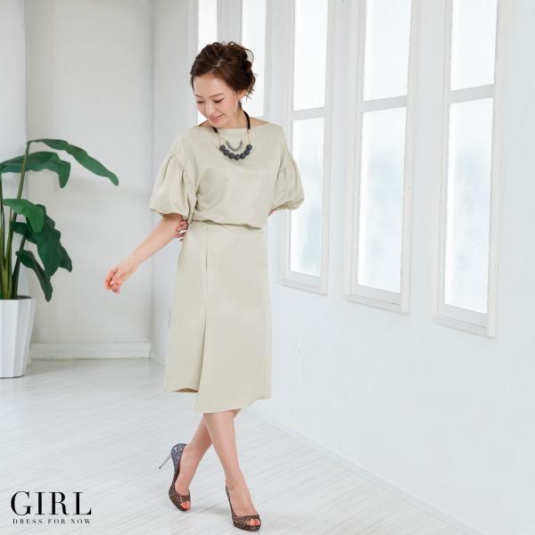 パーティードレス ワンピース モデル美香着用 結婚式 大きいサイズ セットアップ パーティー レディース フォーマル|girl-k|02