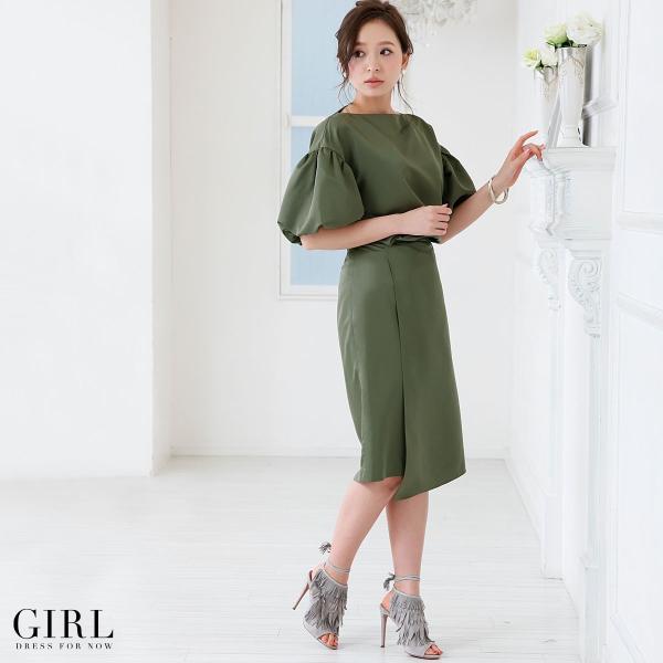 パーティードレス ワンピース モデル美香着用 結婚式 大きいサイズ セットアップ パーティー レディース フォーマル|girl-k|03