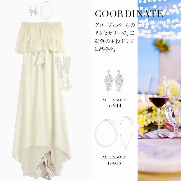 ウェディングドレス パーティードレス ドレス ワンピース 大きいサイズ 30代 20代 結婚式 二次会 花嫁 レディース 袖付き 半袖|girl-k|21