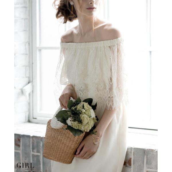 ウェディングドレス パーティードレス ドレス ワンピース 大きいサイズ 30代 20代 結婚式 二次会 花嫁 レディース 袖付き 半袖|girl-k|04