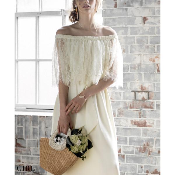 ウェディングドレス パーティードレス ドレス ワンピース 大きいサイズ 30代 20代 結婚式 二次会 花嫁 レディース 袖付き 半袖|girl-k|05